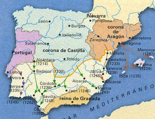 Reconquista-o-Conquista-cristiana-a-comienzos-del-siglo-XIII